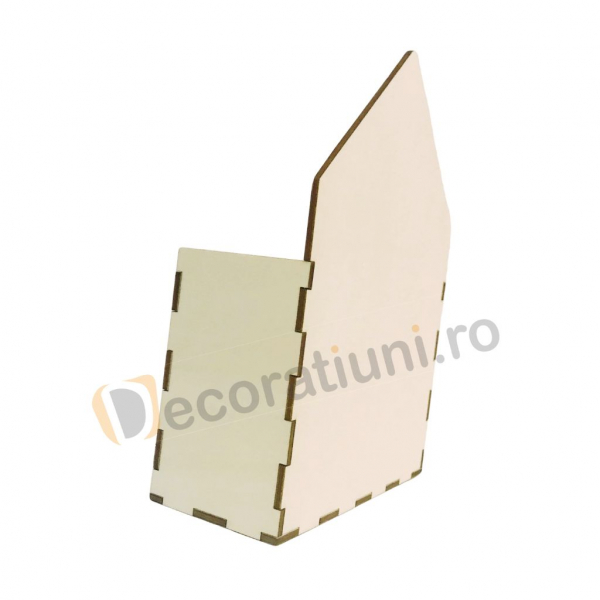 Cutie din lemn - model plic 4