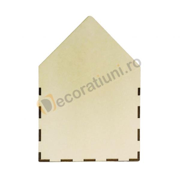 Cutie din lemn - model plic 5