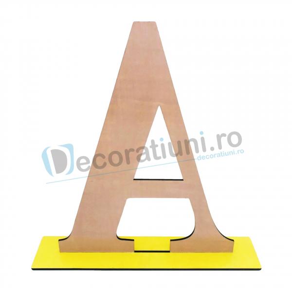 Litere decorative din lemn - model Big Letters 8