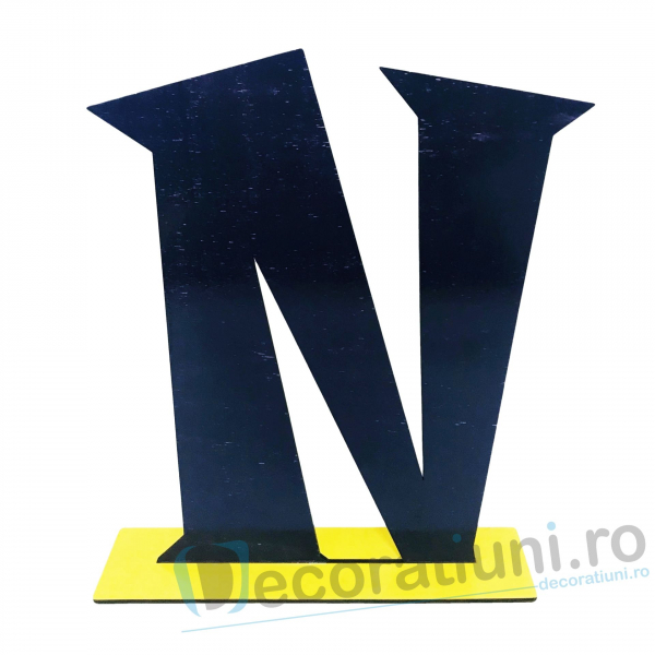 Litere decorative din lemn - model Big Letters 7
