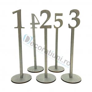 Numere de masa pentru nunta - model basic cu suport1