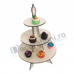 Stander prajituri, suport prajituri, candy bar - model Eiffel Tower2