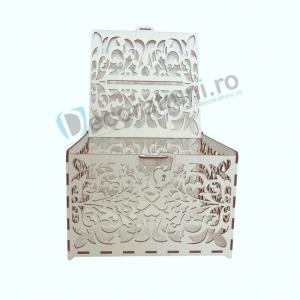 Cutie din lemn pentru dar - model Romantic3