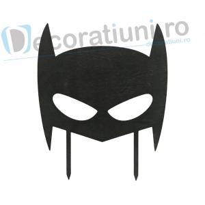 Cake topper pentru copii din lemn - model Batman0