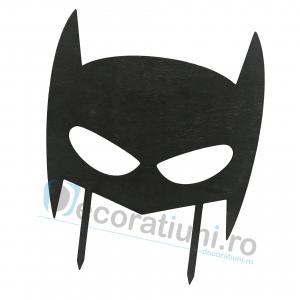 Cake topper pentru copii din lemn - model Batman1