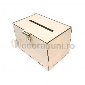 Cutie dar din lemn - model Simplu [3]
