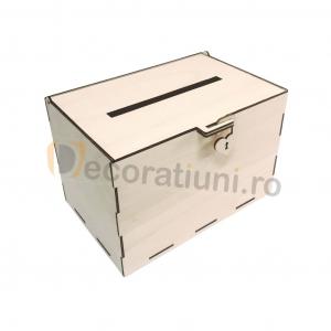 Cutie dar din lemn - model Simplu [1]