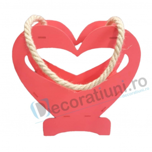 Cutie decorativa din lemn - model Heart0