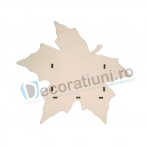 Cutie din lemn decorativa - model Leaf [1]