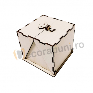 Cutie din lemn ornamentala - model Treasure0