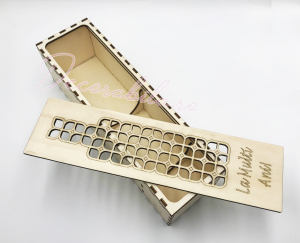 Cutie din lemn vin - model Roua1