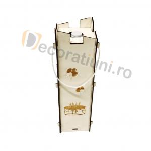 Cutie pentru vin din lemn - model Moralia5