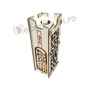Cutie pentru vin din lemn - model Moralia8