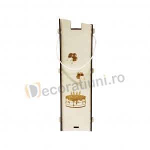 Cutie pentru vin din lemn - model Moralia4