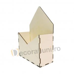 Cutie din lemn - model plic2