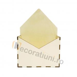 Cutie din lemn - model plic1