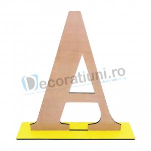 Litere decorative din lemn - model Big Letters8