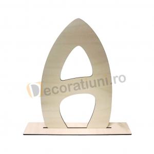 Litere decorative din lemn - model Big Letters0