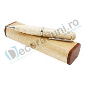 Stick usb pix din lemn si cutie personalizata0
