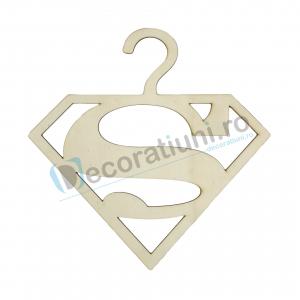 Umeras din lemn pentru copii - model Superman0