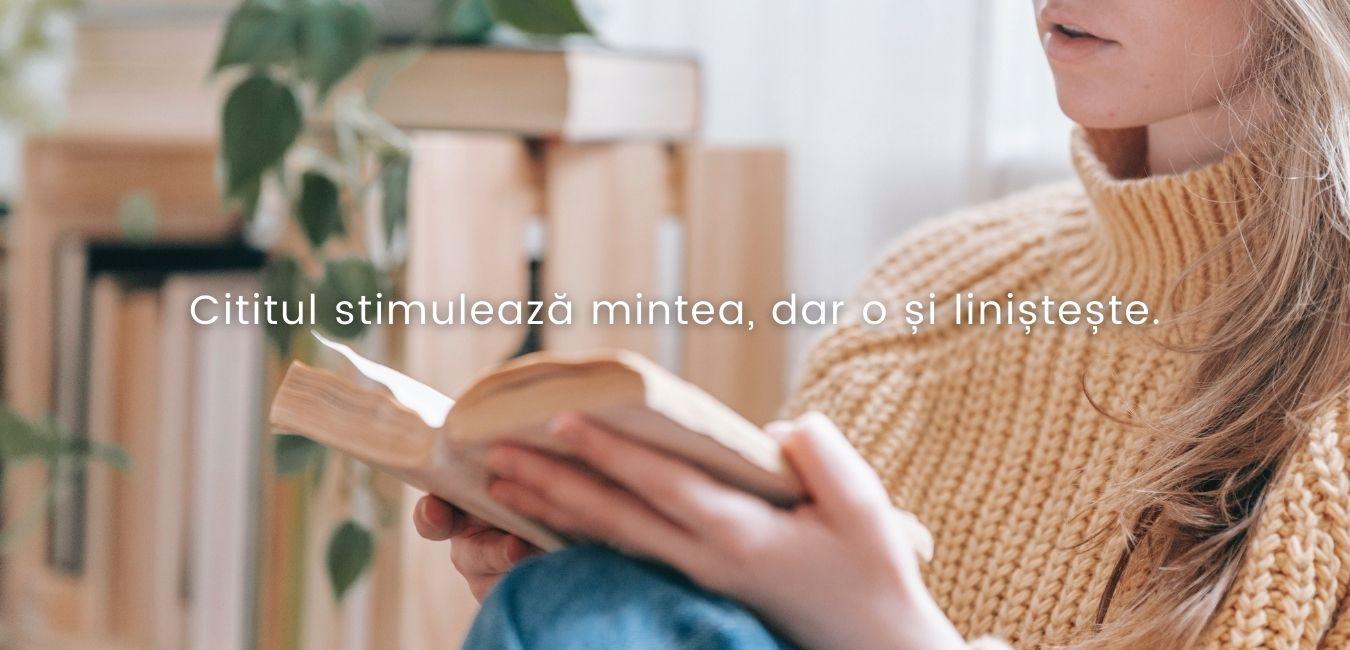 cititul stimuleaza mintea