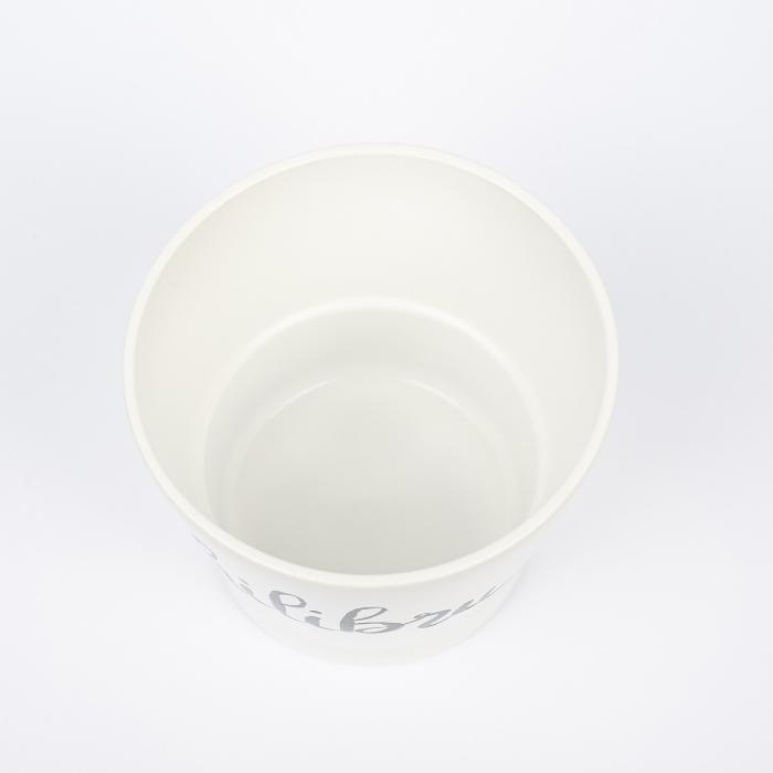 Ghiveci ceramică pictat manual, cuvânt ECHILIBRU [2]