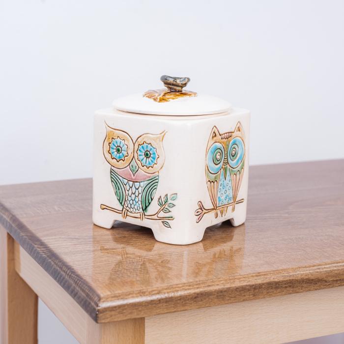 Recipient decorativ din ceramică [2]