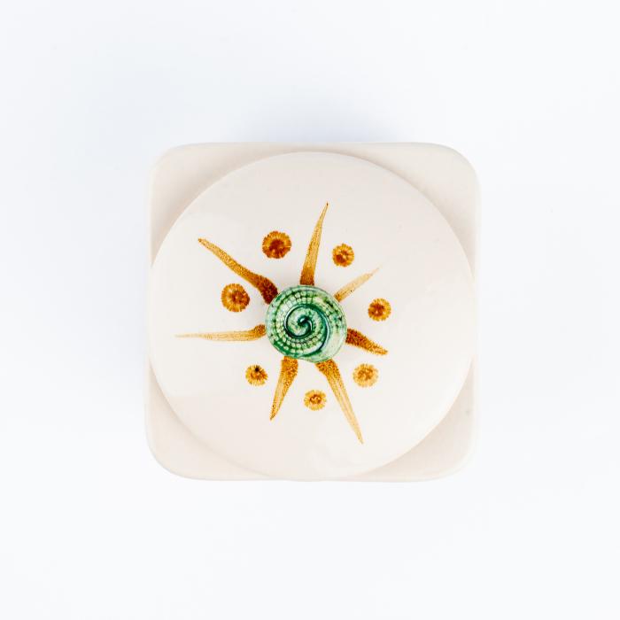Recipient decorativ din ceramică pentru biscuiți [8]