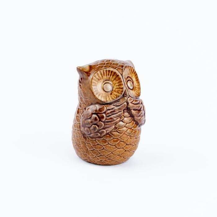 Set 3 bufnițe decorative din ceramică [8]