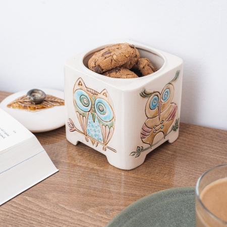 Recipient decorativ din ceramică [4]