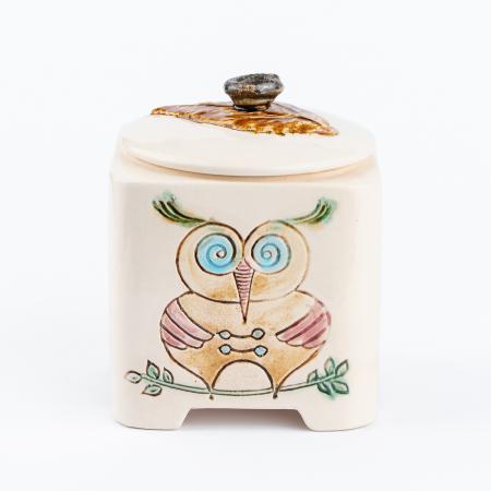 Recipient decorativ din ceramică [5]