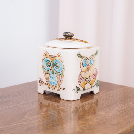Recipient decorativ din ceramică [0]