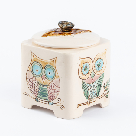 Recipient decorativ din ceramică [6]
