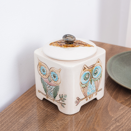 Recipient decorativ din ceramică [3]