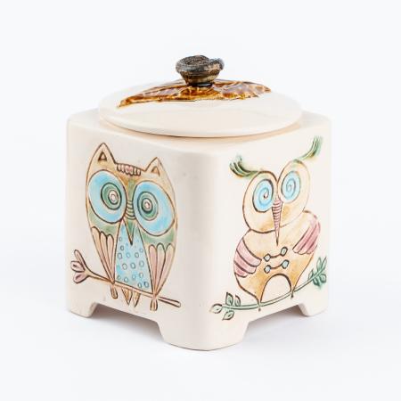 Recipient decorativ din ceramică [7]