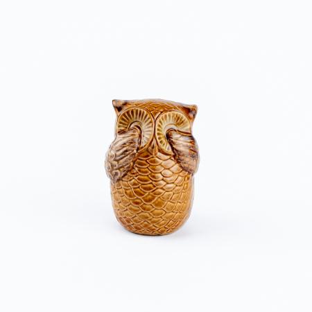 Set 3 bufnițe decorative din ceramică [5]