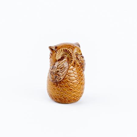 Set 3 bufnițe decorative din ceramică [6]