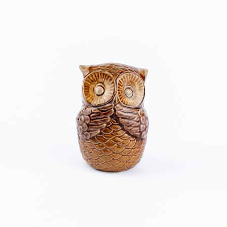 Set 3 bufnițe decorative din ceramică [7]