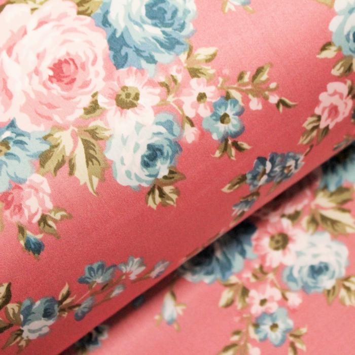 Bumbac dublu satinat roz 120704 [0]