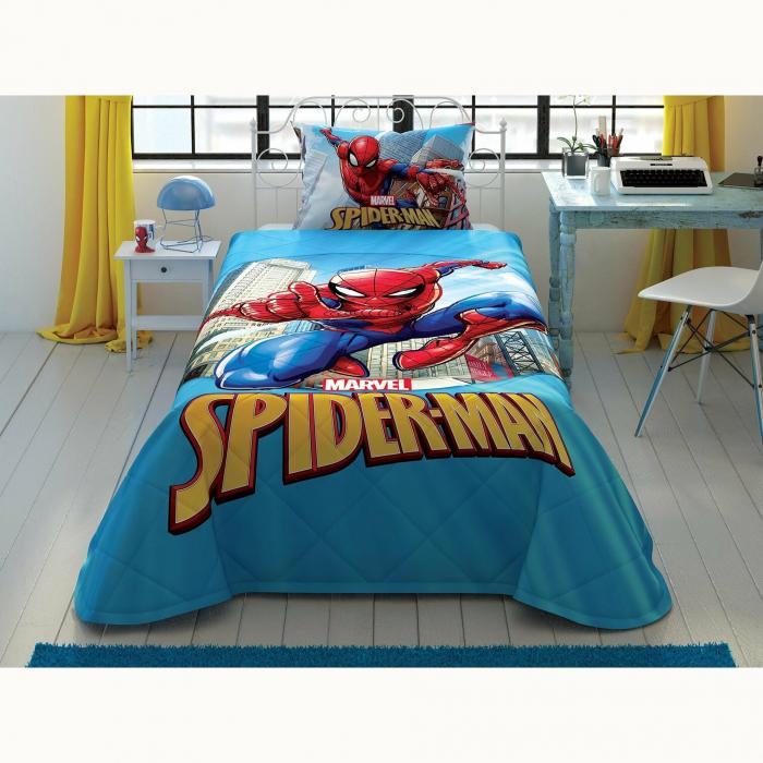 Cuvertură matlasată 160x220cm, TAC, Spiderman Classic Marvel [0]