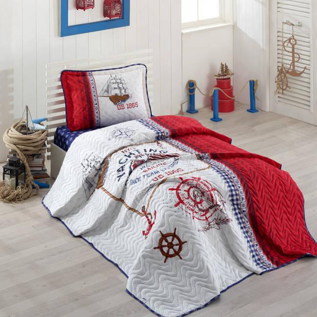 Cuvertură pat Clasy-matlasată  ALESTA [0]