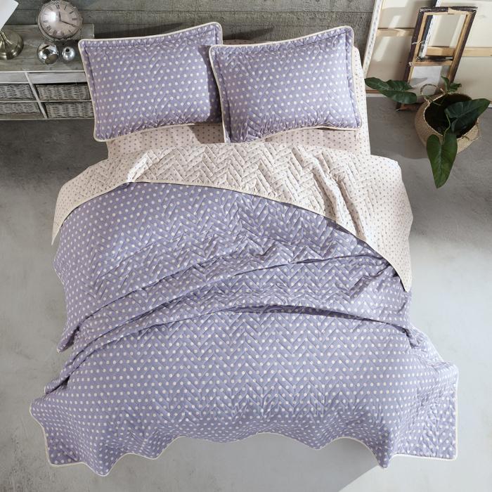 Cuvertură pat Clasy-matlasată OREGON [0]