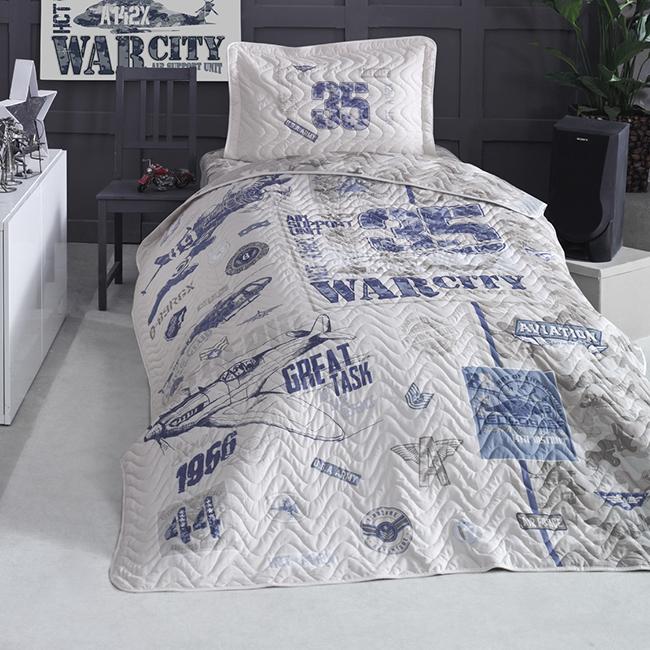 Cuvertură pat Clasy-matlasată TROYA [0]