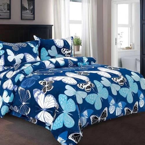 Lenjerie de pat cocolino Blue Butterfly [0]