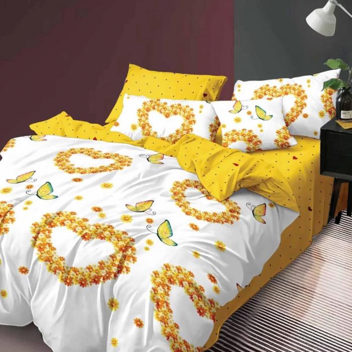 Lenjerie de pat, două persoane, Elvo (459) [0]