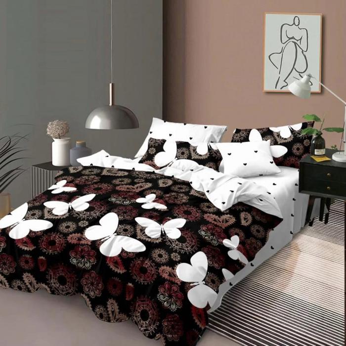 Lenjerie de pat, doua persoane, Elvo (452) [0]