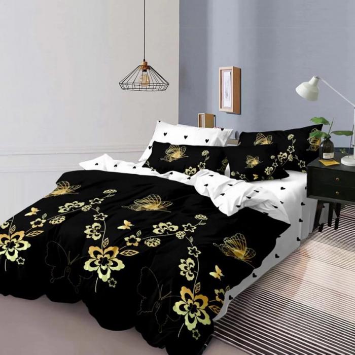 Lenjerie de pat, doua persoane, Elvo (457) [0]