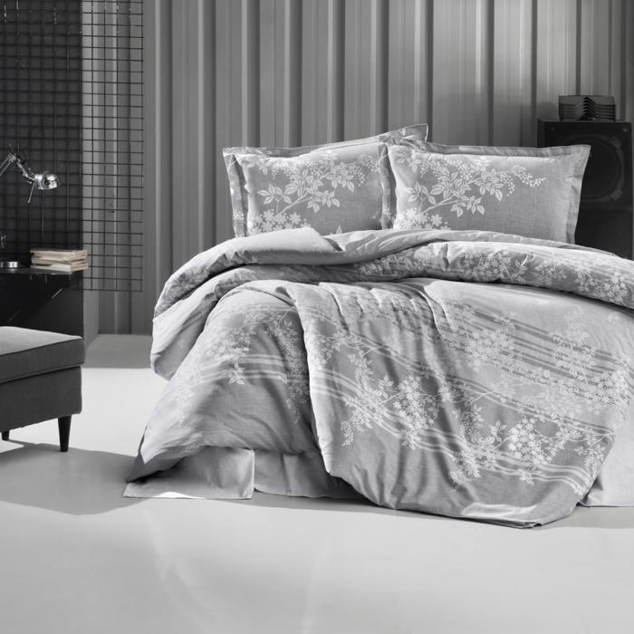 Lenjerie de pat ranforce, două persoane, bumbac 100%, BOVA V1 [0]
