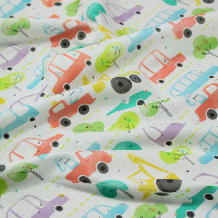 Percale Voitures [1]