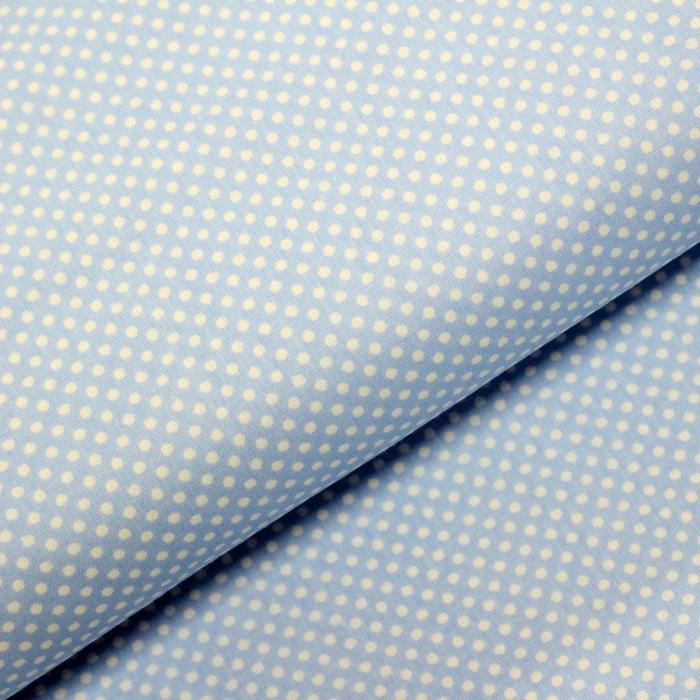 Ranforce bleu cu bulinute albe [0]